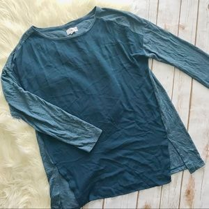 Lou & Grey panel long sleeve tee